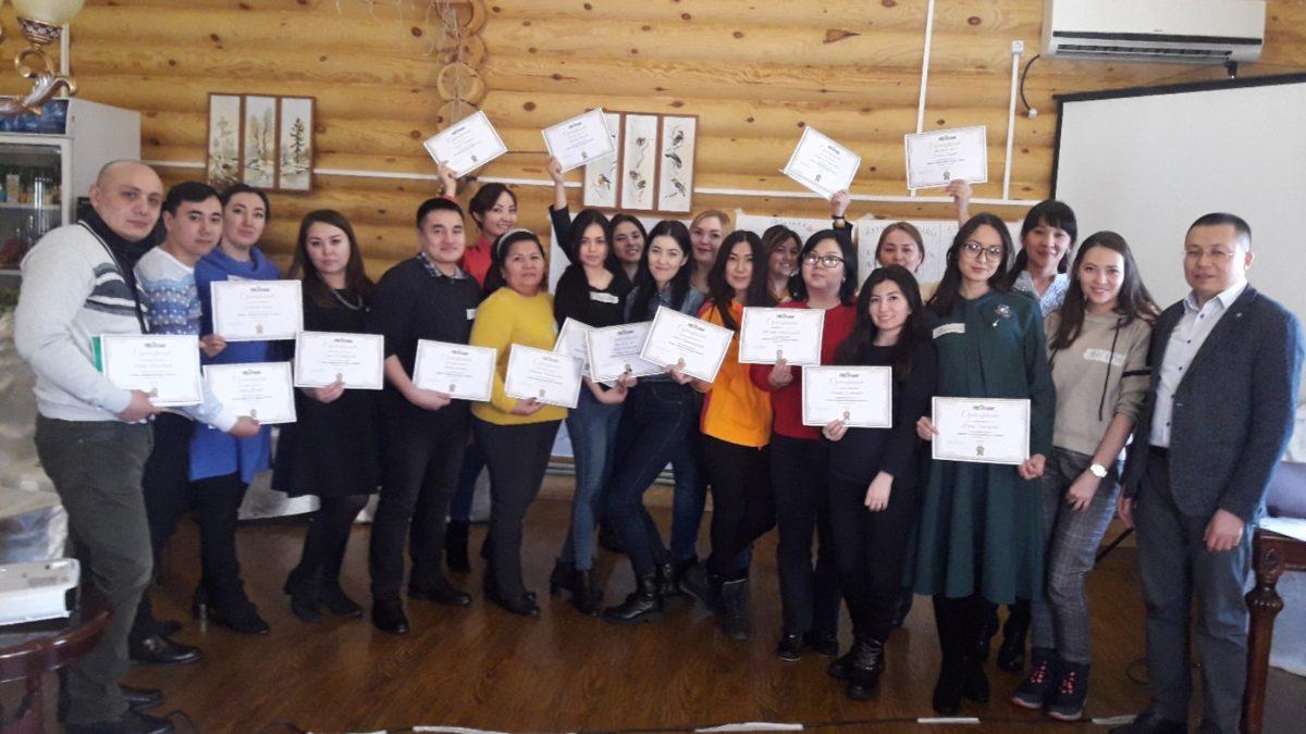 Совет молодых ученых ЕНУ провел выездное мероприятие «Бизнес-тренинг для молодых ученых»
